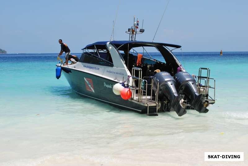 лодки на пхукете