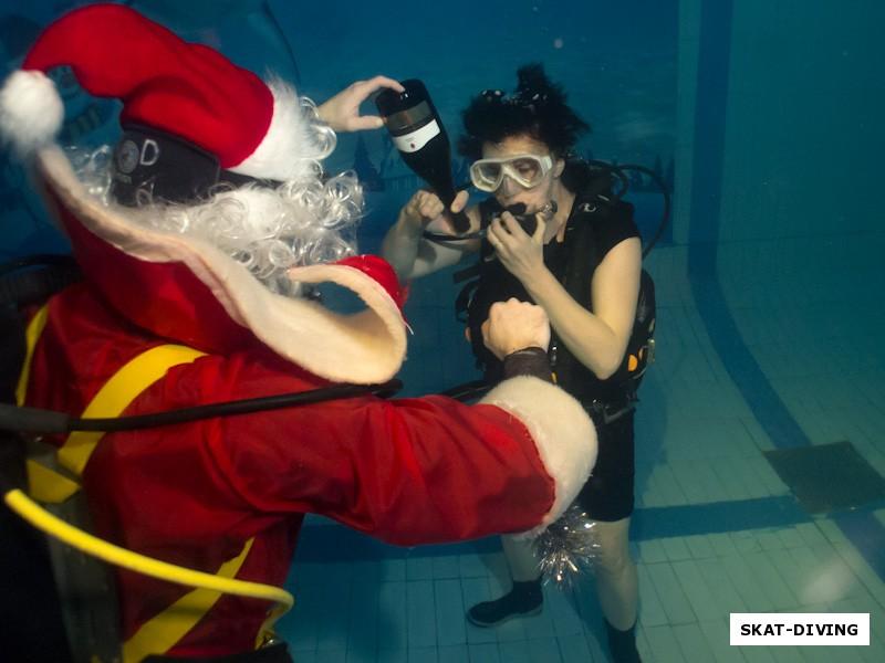 Фото: Кирюхин Роман, Гришина Елена, хранительница подводных традиций